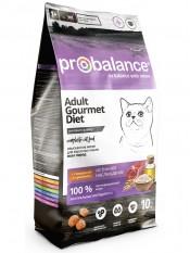 """Probalance """"Gourmet Diet Beef & Rabbit"""" с говядиной и кроликом, 10 кг."""