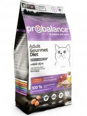 "Probalance ""Gourmet Diet Beef & Lamb"" с говядиной и ягненком, 10 кг."