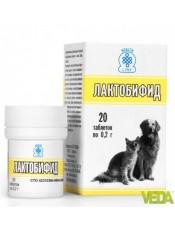 Лактобифид дополнительный функциональный корм, 20 табл.