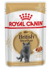 Royal Canin паучи British Shorthair Adult (в соусе), 85 гр.
