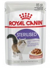 Royal Canin Sterilised (в соусе), 85 гр.