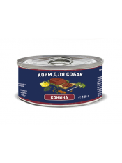 Solid Natura Конина влажный корм для собак жестяная банка 0,1 кг
