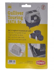 Stefanplast Ремни безопасности для переноски Gulliver Touring (3шт), 100 г артикул: 10385