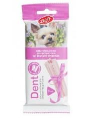Titbit Жевательный снек DENT со вкусом креветки, для мелких собак, 5 шт.