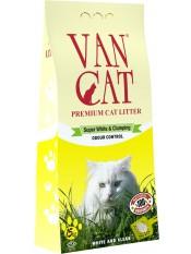Van Cat Комкующийся наполнитель для крупных кошек, без пыли, пакет, 15 кг.