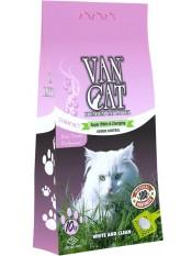Van Cat Комкующийся наполнитель без пыли с ароматом детской присыпки, пакет, 10 кг.