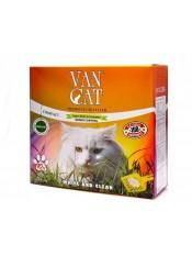 """Van Cat Комкующийся наполнитель """"100% натуральный"""", без пыли, коробка, 10 кг."""