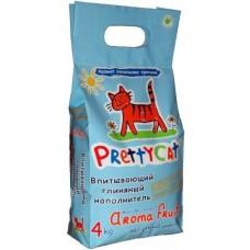 Pretty Cat Aroma Fruit наполнитель с кристаллами, 8 лит.