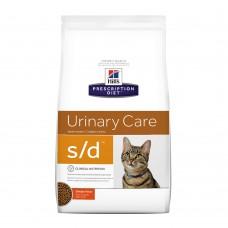 "Hill's S/D для кошек ""Лечение МКБ"", 1.5 кг."