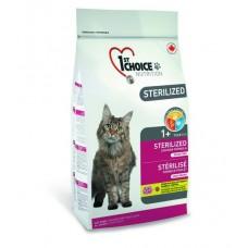 1st Choice Sterilized для стерилизованных кошек с курицей и баттатом, 320 гр.