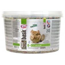 Корм LOLO-PETS для морской свинки ведро, 3 лит.