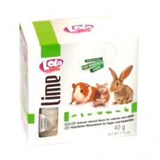 Lolo Pets камень минеральный для грызунов и кроликов, натуральный, 40 гр.