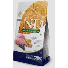 Фармина для кошек N&D, ягненок-черника, низкое содержание зерна, 5 кг