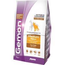 Gemon Dog Medium корм для взрослых собак средних пород с курицей, 20 кг.