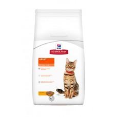 Hill's для взрослых кошек, c курицей, арт. 6291, 15 кг.