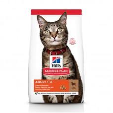 Hill's для взрослых кошек, c ягненком, 1,5 кг.