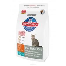 Hill's для стерилизованных кошек до 6 лет, с тунцом, 3,5 кг.