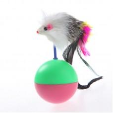 Мышь-мяч неваляшка.