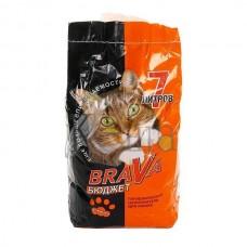 Brava наполнитель Бюджет, оранжевый, 7 литр.
