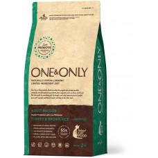 ONE&ONLY Indoor для кошек с индейкой и рисом, 2 кг