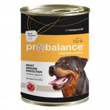 Probalance для собак консервы с говядиной, 850 гр.