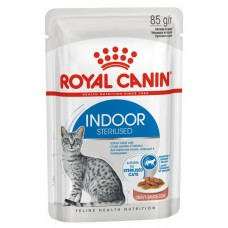 Royal Canin Indoor Sterilised (в соусе), 85 гр.