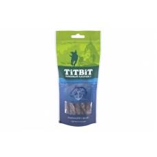 Титбит Лакомый кусочек для собак Палочки из лосося для собак, 75 гр.