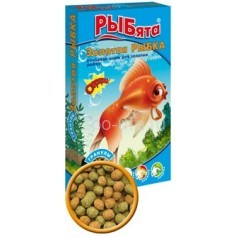 РЫбята Золотая рыбка гранулы, 25 гр.