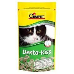 Gimpet Denta-Kiss, витамины для кошек для чистки зубов 50 гр, 65 шт.