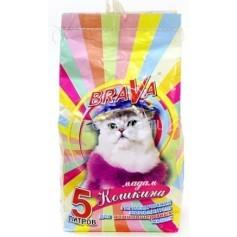 Brava Мадам Кошкина для длинношерстных кошек, 5 литр.