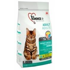1st Choice Контроль веса для кастрированных и стерильных кошек, 2,72
