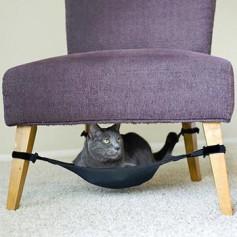 Гамак для кошки на ножки стула и столика