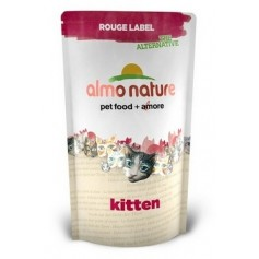 Almo Nature 100% Fresh для котят с курицей, Rouge label The Alternative Kitten&Chicken, 105 гр. - артикул: 23203