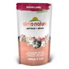 Almo Nature 100% Fresh для кошек с лососем, Rouge label The Alternative Cat Salmon, 750 гр. - артикул: 23210