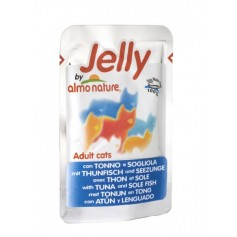 Almo Nature Паучи для кошек с тунцом и камбалой в желе, Jelly Cat Tuna&Sole, 70 гр. - артикул: 22521