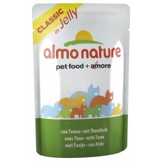 Almo Nature Паучи для кошек с тунцом в желе, Jelly Cat Tuna, 55 гр. - артикул: 23413