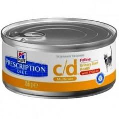 Hill's консервы для кошек  C/D, 156 гр.