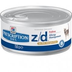 Hill's консервы для кошек  Z/D, 156 гр.