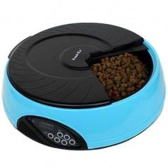 Feedex Автокормушка на 4 кормления для 1-1,2 кг корма, голубая PF2B, артикул: 14047.гол