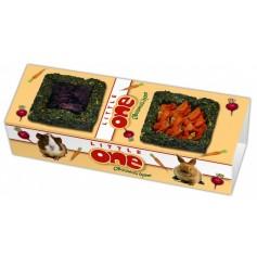 Little One Овощной дуэт- лакомство-игрушка для всех видов грызунов, 150 гр.