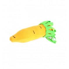 Игрушка для собак Морковка, чехол из флиса на бутылку