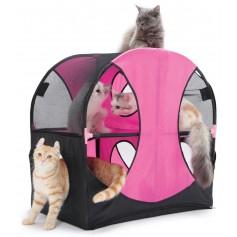 """Kitty City Игровой комплекс для кошек """"Колесо обозрения"""", 66x66x43 см, арт. 23055"""