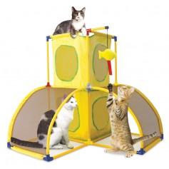 """Kitty City Игровой комплекс для кошек """"Версаль"""", 70x70x70 см, арт.23056"""