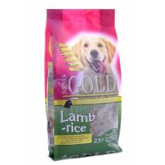 NERO GOLD SUPER PREMIUM Для взрослых собак с ягненком и рисом, Adult Lamb&Rice 23/10, 12 кг - артикул: 10075