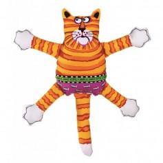 "Kitty City Игрушка ""Кот-забияка"" мини оранжевый, арт. 10747.оранж"
