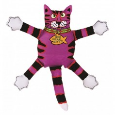 "Kitty City Игрушка ""Кот-забияка"" мини фиолетовый, 10747.фиол"