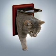 Дверца для кошки, 14,7х15,8 см, коричневая, 2 позиции артикул: 16935