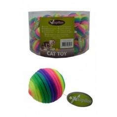 Радужный мячи с погремушкой, 3,5 см, текстиль
