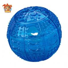 """Kitty City Игрушка для собак """"Мяч для развлечения и угощения"""" артикул: 10740.син"""