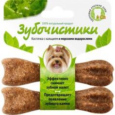 """""""Зубочистики"""" для собак мелких пород с морскими водорослями"""